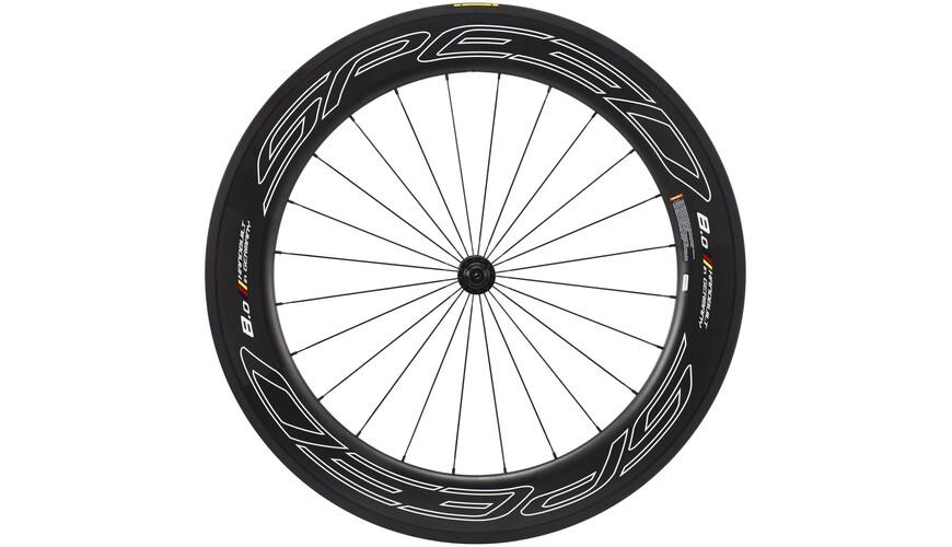 Veltec Speed 8.0 FCC Framhjul svart